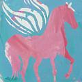 Pink Princess Pegasus by Candace Shrope