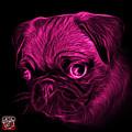 Pink Pug -  9567 Fs B by James Ahn