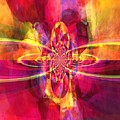 Pink Purple And Yellow by Miriam Shaw