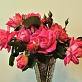 Pink Roses Bouquet 2 by Scenic Sights By Tara