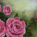 Pink Roses by Joni McPherson