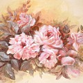 Pink Roses by Patricia Rachidi