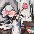 Pink Roses by Samuel John Peploe
