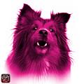 Pink Sheltie Dog Art 0207 - Wb by James Ahn