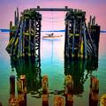 Pink Skies In Port Townsend by Tara Turner