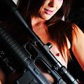 Pink Sniper by Robert WK Clark