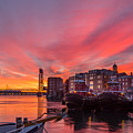 Pink Sunrise by Scott Patterson