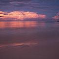 Pink Sunset At Kalama Beach by Charmian Vistaunet