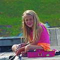 Pink Tackle Box by Joseph F Safin
