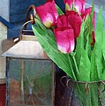Pink Tulips by Donna Bentley