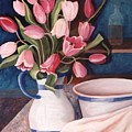 Pink Tulips by Renate Nadi Wesley