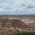 Pinnacles Overlook Panorama  by Michael Ver Sprill