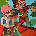 Pinocchio by Maria Rom