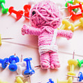 Pins And Needles Mummy Voodoo Doll by Jorgo Photography - Wall Art Gallery