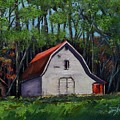 Pinson Barn At Harrison Park by Jan Dappen