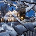 Pioneer Inn At Christmas Time by Utah Images