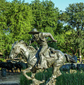 Pioneer Plaza Cattle Drive Monument Dallas by Art Spectrum