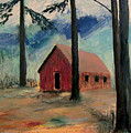 Pioneer School House by Richard Beauregard