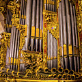 Pipe Organ Detail by Roberta Bragan