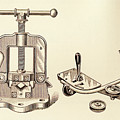 Pipe Vise by Paul W Faust - Impressions of Light