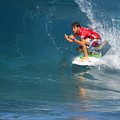 Pipeline Masters Champion by Kevin Smith