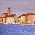 Piran The Lighthouse by Anthony Meton