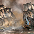 Pirate Battle by Daniel Eskridge