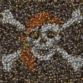 Pirate Coins Mosaic by Paul Van Scott