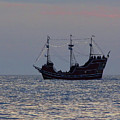 Pirate Ship At Clearwater by D Hackett