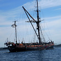 Pirate Ship  by Darielle Mesmer