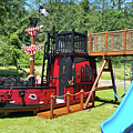 Pirate Ship Playhouse Wood Pirate Ship Playhouses by Dixonwood Working