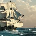 Pirates On The High Seas by Daniel Eskridge