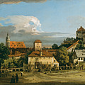 Pirna. The Obertor From The South by Bernardo Bellotto