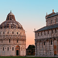 Pisa Piazza Dei Miracoli Sunrise by Songquan Deng