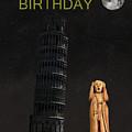 Pisa The Scream World Tour Happy Birthday by Eric Kempson