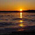 Piscataway Creek Sunrise by Buddy Scott