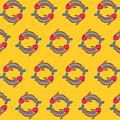 Pisces Zodiac Sign Pattern by Prathamesh Prabhu