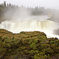 Pisew Falls Northern Manitoba Canada by Mark Duffy