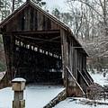 Pisgah Covered Bridge - Modern by Matthew Irvin