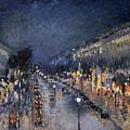Pissarro: Paris At Night by Granger