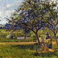 Pissarro: Wheelbarr., 1881 by Granger
