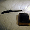 Pistol And Bible by Douglas Barnett