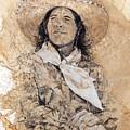 Pistol Packin' Cowgirl by Debra Jones