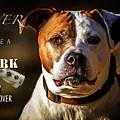 Pitbull Rescue Poster by Eleanor Abramson