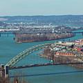 Pittsburg City Skyline by Maxwell Dziku