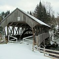 Pittsburg-clarksville Covered Bridge by Wayne Toutaint