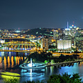 Pittsburgh At Night by Artem S
