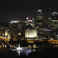 Pittsburgh At Night by Ronald Fleischer