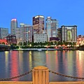 Pittsburgh At Waters Edge by Frozen in Time Fine Art Photography