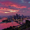 Pittsburgh Dawn by Jennifer Grover